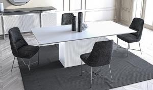 трапезарна маса Noir;Saloni