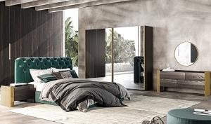 спален комплект Milan;Saloni